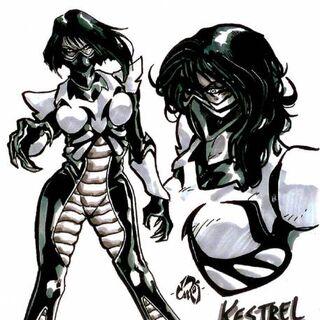 Kestrel in the comic book series