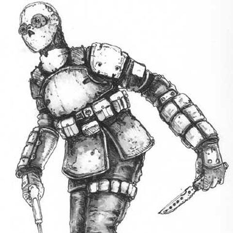 Kommando concept art