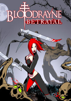 BloodRayne Betrayal (Cover)