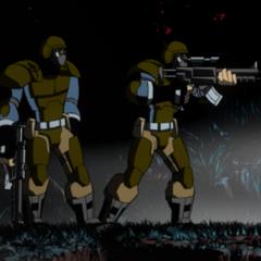 Brimstone soldiers in <i>BloodRayne: Betrayal</i>