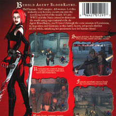 Back cover for North American and European console releases