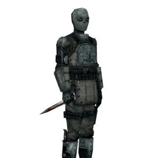 A Kommando render taken form the game