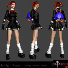 Alternate costume Schoolgirl Rayne