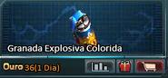 Granada Explosiva Colorida