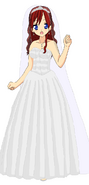 Kairi wedding dress new by bananafontana-d4ctwyb
