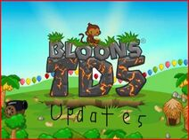 Bloons td 5 updates