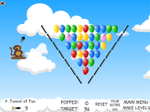 Funnel of fun even more bloons