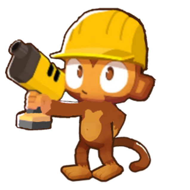 Engineer Monkey (Bloons Tower Defense 7)   Bloons Conception