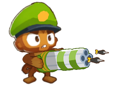 Dartling Gunner (Bloons Tower Defense 7)   Bloons Conception