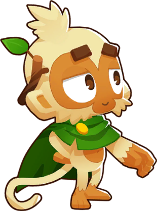 Druid Monkey (Bloons Tower Defense 7)   Bloons Conception