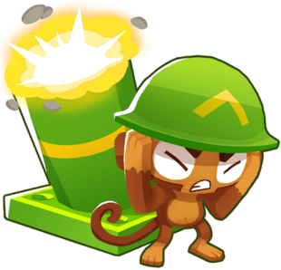 Mortar Monkey (Bloons Tower Defense 7) | Bloons Conception