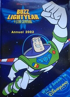 Buzz Lightyear of Star Command Annual 2002