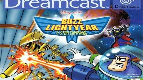 Buzz Lightyear of Star Command Video Game (Sega Dreamcast) Full Playthrough