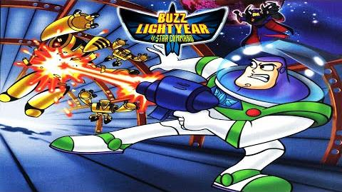 Buzz Lightyear Of Star Command Video Game (PS1) Full 100% Playthrough