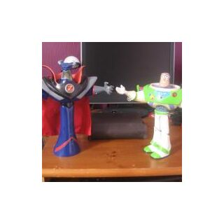 Interactive Buzz and Zurg (see phrases at: <a rel=
