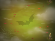 Level background screen (halloween-theme)