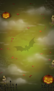 Level background screen (halloween-theme) mobile