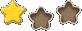 Level star icon 1
