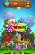 Awesome Blossom mobile screen