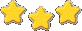 Level star icon 3