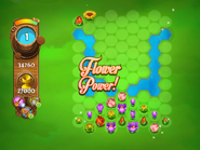 Flower Power appearing screen