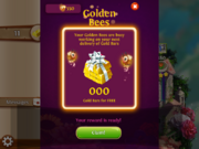 Golden Bees info (Facebook)