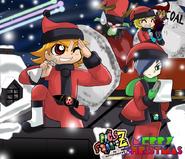 Santa boys merry christmas 2011 by bipinkbunny-d4k4a3k