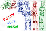 RowdyROCK boys by jimaji