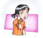 Kimiko Tohomiko by mellie chan