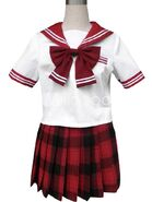 Red-Short-Sleeves-Sailor-School-Uniform-Cosplay-Costume-34173-12