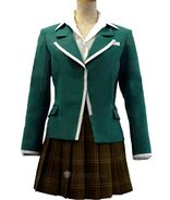 Rosario and Vampire Akashiya Moka Uniform Cosplay Costume
