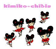 Kimiko Chibis by XJleiu