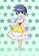 Kauro in Beautiful Dress
