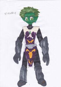 Toon fantasy beast boy by turtlehill-d5afjen