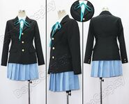 K-On-Sakuragaoka-High-School-Uniform-Cosplay-Costume-Free-Shipping