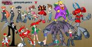 Cartoon character chart 2 by bleedman