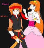 Blossomxbrick my color by nanakoblaze-d4jqa24