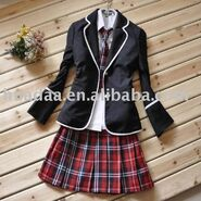 Girl s School Uniform with coat