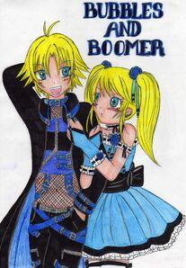 BuBbEs aNd BoOmeR 2XD by sweetxdeidara