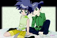 Kaoru and Butch by BiPinkBunny