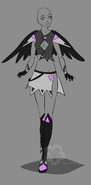 Winged outfit adopt sold by nahemii san-d7gog5z