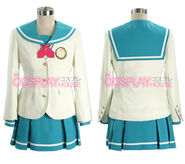Idolmaster Xenoglossia Girl Autumn School Uniform costume ver 02-1-04