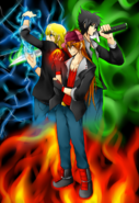 The rowdyrock boys by psleo mane-d4hd9ll