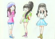 Kimiko outfits by aniselomit-d6ol35e