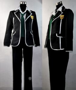 Guilty Crown OUMA SHU School Uniform Cosplay Costume