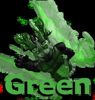 ContentsNav Green