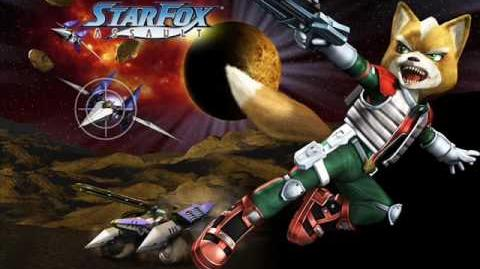 Star Fox Assault Soundtrack - VS Sargasso Space Hideout