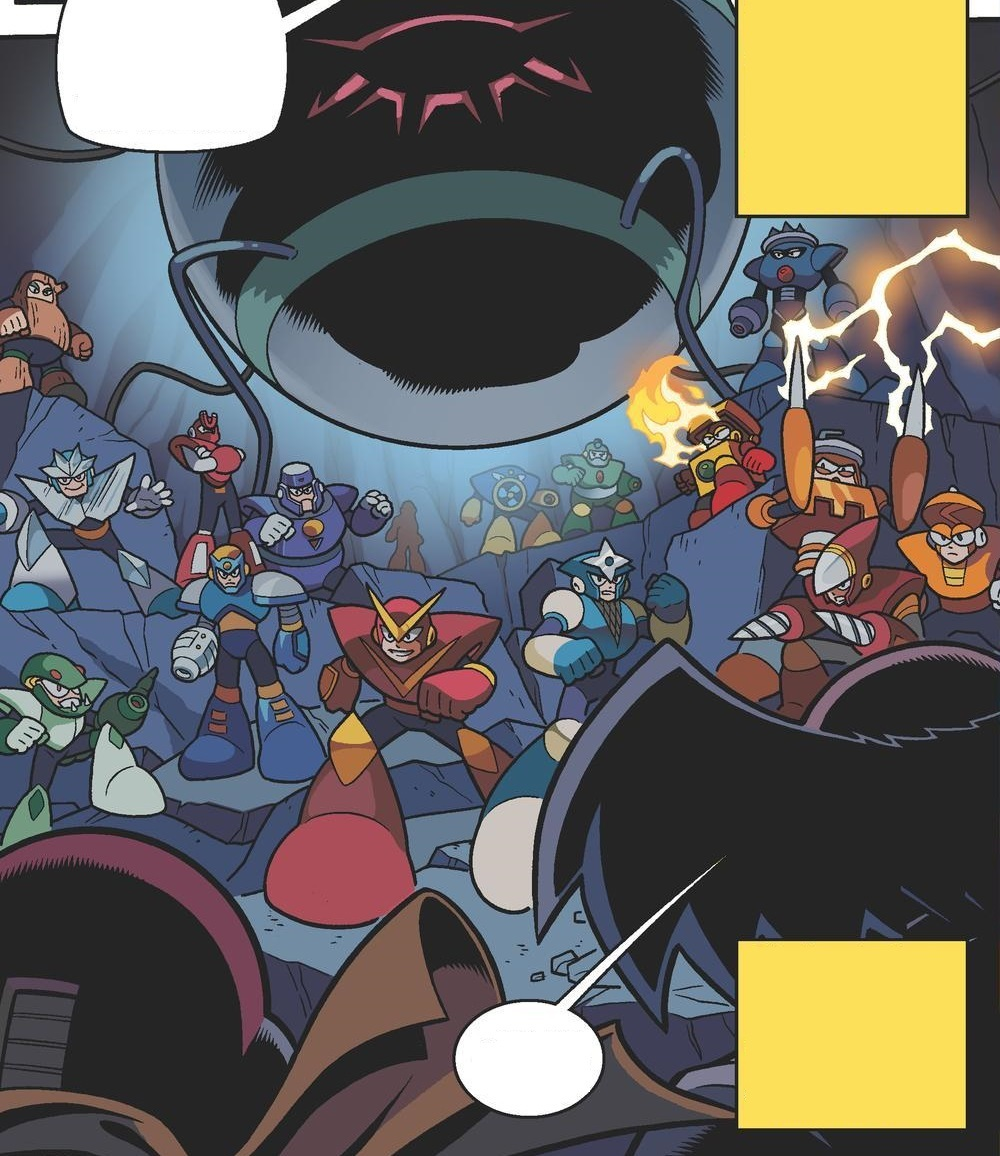 magnet man blue bomber comics wiki fandom powered by wikia