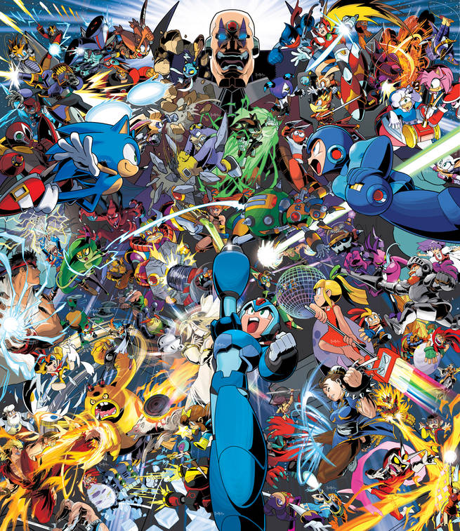 Worlds Unite Complete Poster Variant