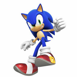 Sonic the Hedgehog (Sonic Colours model)
